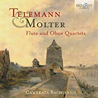 Telemann & Molter: Flute and Oboe Quartets