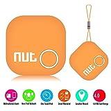 NUT2 スマートタグ Bluetoothトラッカー  キーファインダー 探し物発見器 落し物 忘れ物 位置情報 GPSロケータ バッグ財布/携帯/カギ用