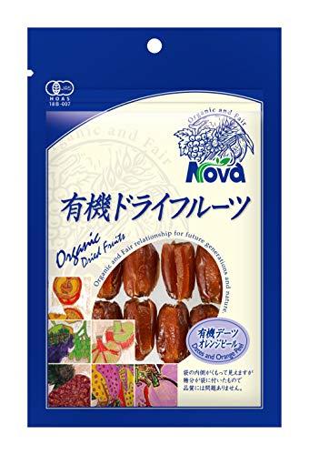 NOVA 有機デーツオレンジピール 8粒