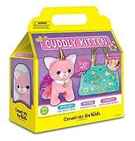 Creativity for Kids Cuddly Kitten Plush Toy - Kitty Stuffed Animal and Pet Carrier Purse [並行輸入品]