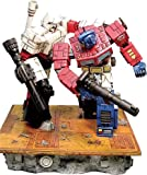Transformers - Battlefield Statue: Optimus Prime vs Megatron