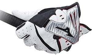 MIZUNO(ミズノ) ゴルフグローブ クロスフィット ゴルフグローブ  5MJML751 ホワイト×シルバー(03) 21