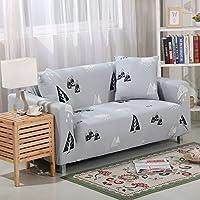 ZHIYUAN 木のパターンと弾性ソファーカバー, 3人掛け