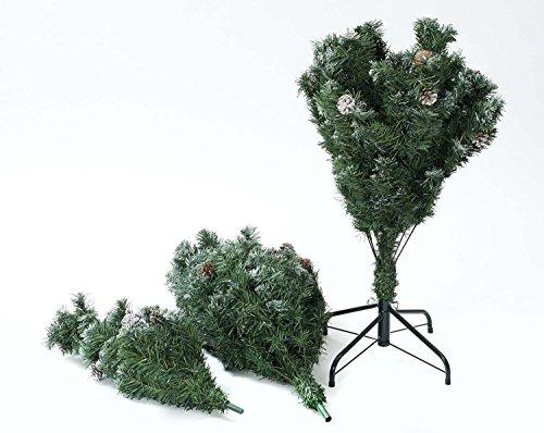 【Amazon.co.jp限定】 キャプテンスタッグ(CAPTAIN STAG) クリスマスツリー 松かさスノータイプ 150cm UP-3501