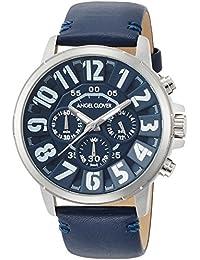[エンジェルクローバー]Angel Clover 腕時計 Bump ブラック文字盤 クロノグラフ BU44SNVNV メンズ
