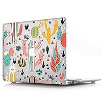 AOGGY MacBook 12インチケース(フィットモデル:A1931&A1534)Retinaディスプレイ付き(2018-2015リリース),マットプリント超薄型なめしゴムコーティングPCハードケース - ローズ797