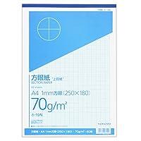コクヨ 方眼紙 ホ-19 A4・1mm方眼(250×180)・50枚