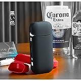 iQOS アイコス ケース 2.4plus AONSO 互換 対応 充電 ロック ハード カバー 正規品 完全保護 フタ 対策 薄い 軽量 (ブラック)