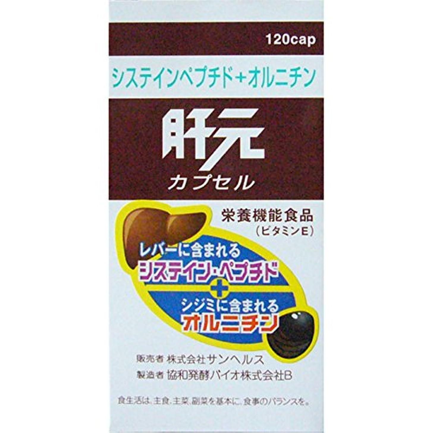 線グラフ製品肝元 栄養機能食品(ビタミンE) 120カプセル