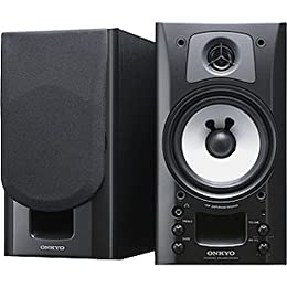 ONKYO WAVIO パワードスピーカーシステム ハイレゾ音源対応 ブラック ブラック GX-70HD2(B)
