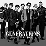 涙♪GENERATIONS from EXILE TRIBEのCDジャケット