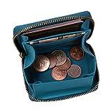 プラスエイチ(Plus H) 小銭入れ ボックス型コインケース パス入れ ミニ財布 オールインワン PH8062 (ターコイズ)