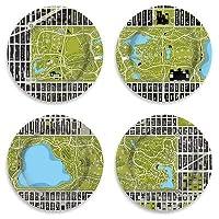 "Central Parkプレート 12"" diameter ブラック 01472000"