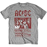 AC/DC - (復刻ツアーTシリーズ)HIGHWAY TO HELL WORLD TOUR 1979/1980/ T-シャツ/ メンズ 【公式 / オフィシャル】