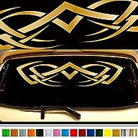 Tribal車ステッカーrear03車カスタムステッカーデカール【8色から選択】日本品質Fast and Furious Lightning Carスタイリング車ステッカー車グラフィックス