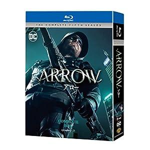 ARROW/アロー<フィフス・シーズン>ブルーレイ コンプリート・ボックス(4枚組) [Blu-ray]