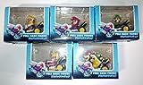 マリオカート8  プルバックフィギュア 全5種セット