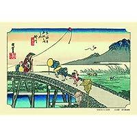 300ピース ジグソーパズル 掛川(東海道五十三次)(26x38cm)