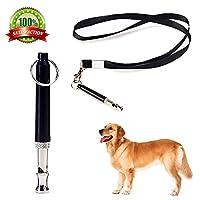 犬笛 ホイッスル 犬しつけ 訓練 トレーニング ペット用品 小型 大型 犬に コード付き 調整可能