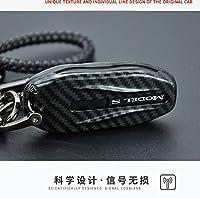 炭素繊維、 abs 車のキー用テスラモデル S モデル X モデル 3 キーホルダープロテクターアクセサリー-for model S MODEL 3