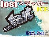 lostステッカー♪サーフボードやスケボーに簡単カスタム!ICE