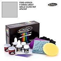 フォード・America FシリーズLariat/グリルシルバーMet–apgcxxf/カラーNドライブタッチアップペイントシステムペイントチップスクラッチ/プラスパック