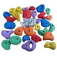 クライミングホールド キッズ 【送料無料】 おもちゃ ボルト 32個セット ロッククライミング 子供 ボルダリング カラー 玩具 トレーニング インテリア 爪付きTナット セット