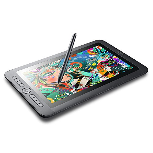 Parblo Coast13 13.3 inch graphic monitor Drawing tablet with screen drawing digital screen cordless and battery free pen included