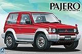青島文化教材社 1/24 ザ・ベストカーGTシリーズ No.105 三菱 V24 パジェロ メタルトップワイドXR-II プラモデル