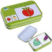 認識機能カード、子供yamally _ 9r認識機能学習パズルLiteracy認識機能カード早期教育玩具 Kryie