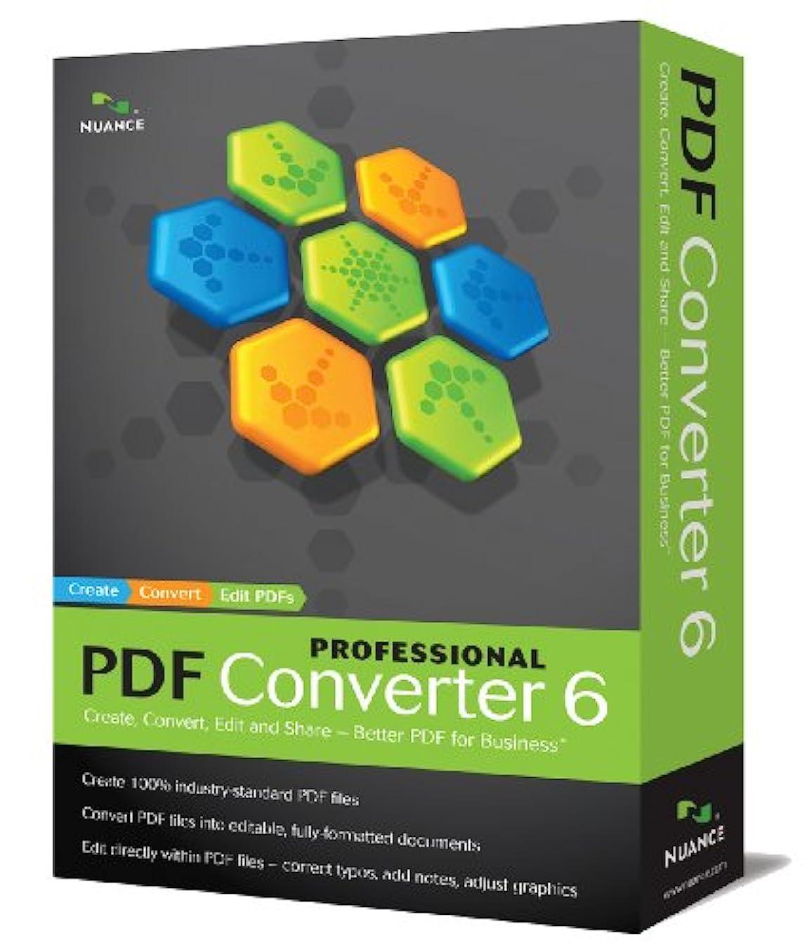 快い閲覧する母音PDF Converter Professional 6.0, US English