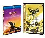 ボヘミアン・ラプソディ (Blu-ray+DVD) & クイーン ライブ・アット・ウェンブリー(輸入盤DVD) SET