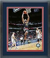 "Al Horford Atlanta Hawks NBAアクション写真(サイズ: 22.5"" X 26.5CM )フレーム"