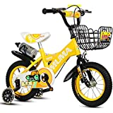 yxgh-子供の自転車2 – 4-6 Years Old 6 – 7-8 – 9 years old kid 's Bike Baby Carriage Boy Girl自転車withフラッシュトレーニングホイールとケトル