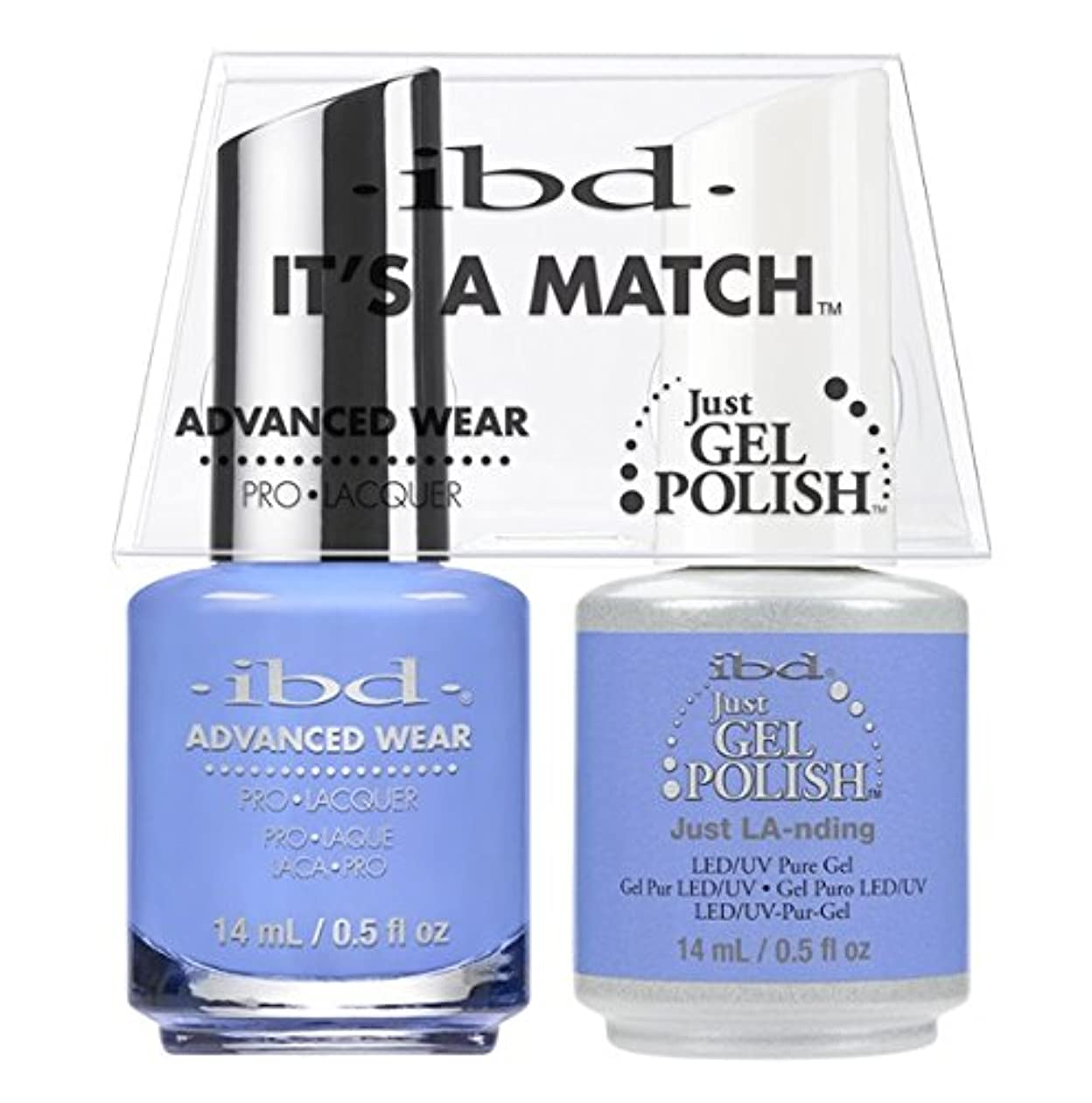 ibd - It's A Match -Duo Pack- Destination Collection - Just LA-nding - 14 mL / 0.5 oz Each