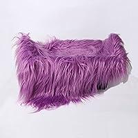 Fenteer 全9色 ベビーブランケット 新生児 出産お祝い ベビーシャワー 写真 撮影 記念 道具 ブランケット ラグ 高品質 毛布 敷物  - 紫