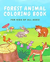 Forest Animal Coloring Book for Kids of All Ages