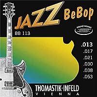 【国内正規品】Thomastik-Infeld トマスティック ジャズギター弦 ラウンドワウンド BeBop(13-53) BB/113