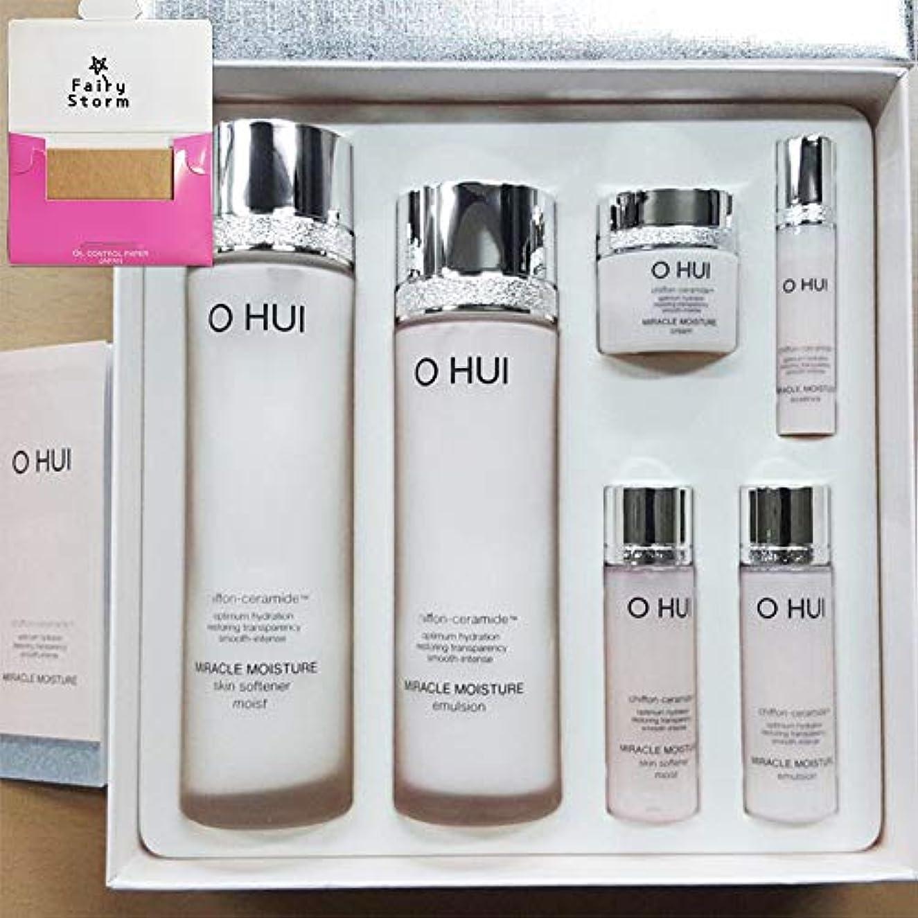 自動的にベール複合[オフィ/ O HUI]韓国化粧品 LG生活健康/ O HUI MIRACLE MOISTURE SPECIAL SET/ミラクルモイスチャー スペシャル 2種 企画セット + [Sample Gift](海外直送品)