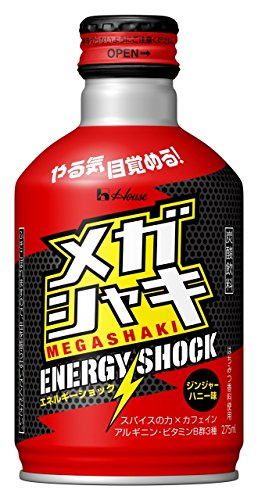 メガシャキ ENERGY SHOCK 275ml×24本