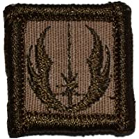 (Coyote Brown) - Jedi Order Galactic Republic Jedi Knights 2.5cm x 2.5cm Military Patch / Morale Patch - Coyote Brown