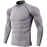 TIANYUTU Quick Dry Running Shirt Men Bodybuilding Sport T-Shirt Long Sleeve Compression Top Gym t Shirt Men Fitness Tight