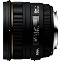 シグマ50mm f / 1.4EX DG HSMレンズfor CanonデジタルSLRカメラ–インターナショナルバージョン保証(no)