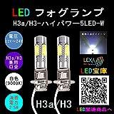 フォグランプ H3d/H3c-ハイパワー5LED 白色