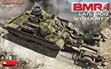 ミニアート 1/35 ソ連軍 BMR-1後期型KMT-7地雷除去車 プラモデル MA37039