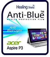 Healingshield スキンシール液晶保護フィルム Eye Protection Anti UV Blue Ray Film for Acer Laptop Aspire P3