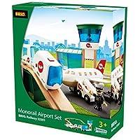 BRIO BRI-33301 Rail Monorail Airport Set by Brio [並行輸入品]