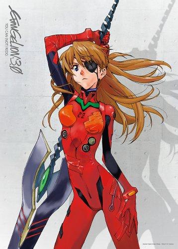 500ピース ジグソーパズル エヴァンゲリヲン アスカ、颯爽と (38x53cm)