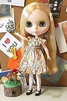 (ドーリア)Dollia ブライス 1/6ドール用 アウトフィット ポージー ストラップレスドレス ワンピース ベルト付 ネオブライス ドール 人形