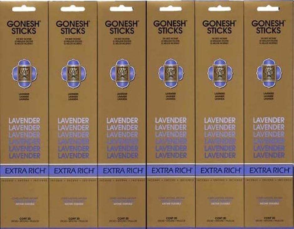 スワップピューケーブルカーGONESH LAVENDER ラベンダー スティック 20本入り X 6パック (120本)